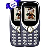 IKALL K31 Basic Feature Mobile Phone (Black, 64MB) - Pack Of 2