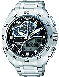 Citizen Herren-Armbanduhr Promaster Land Analog - Digital Quarz Edelstahl jw0120-54E