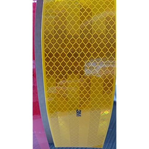 3M Diamond Grade contornos Marcar Amarillo (Retro–Reflectantes pantalla 5,5cm de ancho), 05_5,5cm x 30m