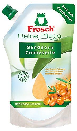 frosch-reine-pflege-sanddorn-pflegeseife-500-ml-nachfullbeutel-3er-pack-3-x-05-l