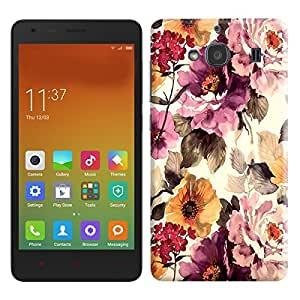 Theskinmantra Flowers n flowers back cover for Xiaomi Redmi 2S