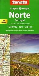 Portugal North 1 : 250 000: Norte Portugal (Regional Series)