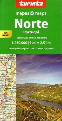Portugal North 1 : 250 000: Norte Portugal (Regional Series) por Turinta LDA