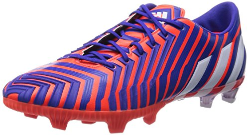 adidas - Predator Instinct Firm Ground, Scarpe da calcio da uomo, Multicolore (Solar Red / Ftwr White / Night Flash), 40