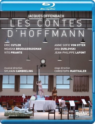 Jacques Offenbach: Les contes d'Hoffmann [UK Import] [Blu-ray]