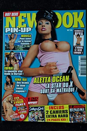 NEWLOOK PIN-UP 075 EUFRAT KINA KAI ALETTA OCEAN GABRIELLE NEVA EMMANUELLE FOX CAHIERS EXTRA + DVD 2010 par Les Trésors d Emmanuelle