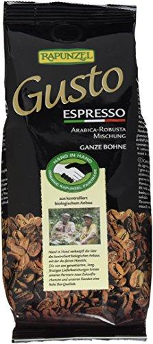 Rapunzel Gusto Espresso all'italiana ganze Bohne HIH, 2er Pack (2 x 250 g) - Bio