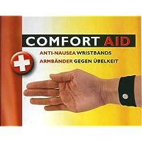 Comfort Aid 4 Armbänder gegen Übelkeit (schwarz) preisvergleich bei billige-tabletten.eu
