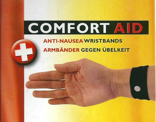 Comfort Aid 4 Armbänder gegen Übelkeit (schwarz) preisvergleich