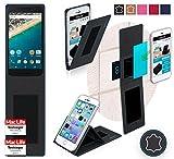 reboon Custodia per LG Nexus 5X   in Nero Cuoio   Cover Case Caso Multifunzionale