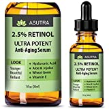 2.5% RETINOL Anti Aging Serum - ULTRA POTENT & EFFECTIVE / With Hyaluronic