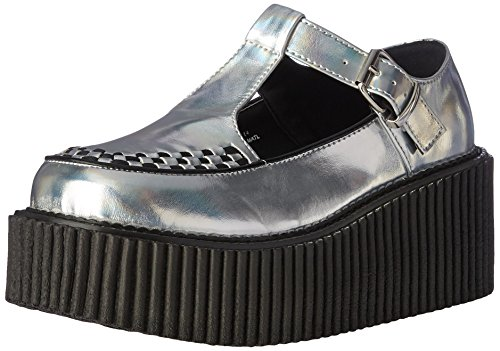 Demonia Women's Creeper-214 Cre214/Shg-Bvl Fashion Sneaker