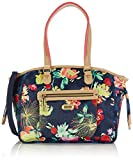 Oilily Damen M Carry All Shopper, Blau (Navy 536), 34x28x12 cm
