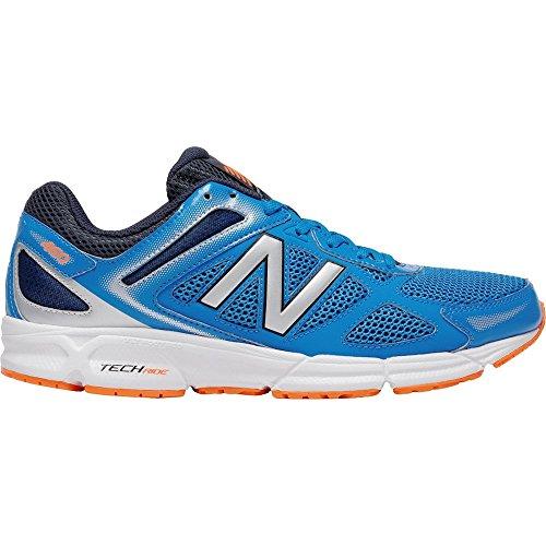 New Balance - M460LS1 - Couleur: Bleu-Noir-Orange - Pointure: 45.5