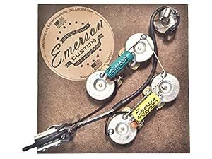 Emerson Custom Guitars SG Kit électronique précâblé pour guitare