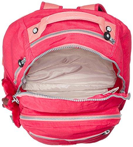 Kipling - CLAS SEOUL - Grand sac à dos - Jungle Dot Play - (Multi-couleur) Flamb Shell C