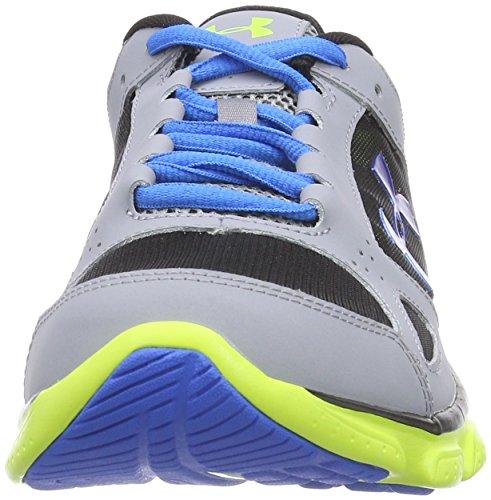 Under Armour Micro G Assert V, Chaussures de running homme Gris (Steel)