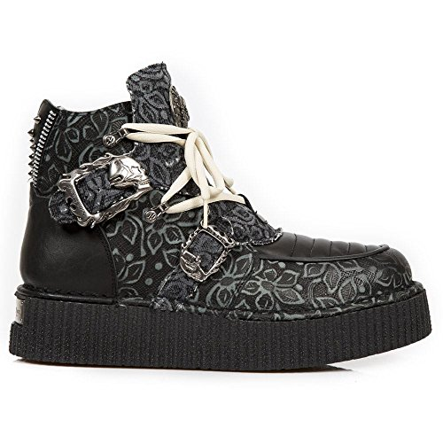 New Rock Neo Creeper Noir Chaussures M.CRP051-S2