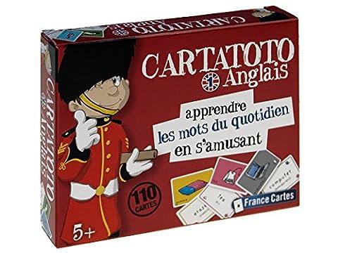 Jeu de 110 cartes : Cartatoto Anglais N1 - Les