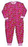 ThePyjamaFactory Mädchen Strampelanzug rosa rose Medium Gr. 5-6 Jahre