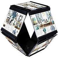 Leggy Horse flessibile di alta qualità trasparente Photo Frame Set acrilico, tasche Immagine Mega -Hanging Photo Gallery-staccabile Cornici cambiare facilmente la figura, un insieme di 2/4, Nero / Bianco