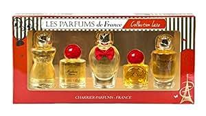 Charrier Parfums de France Collection Luxe Coffret de 5 Eau de Parfums Miniatures Total 49,7 ml