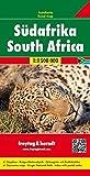 Sudáfrica, mapa de carreteras. Escala 1:1.500.000. Freytag & Berndt.: Wegenkaart 1:1 500 000 / 1:400 000 (Auto karte)