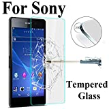 PmseK Protection d'Écran,Verre Trempé,Screen Protector HD Toughened for Sony Xperia...