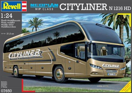 Imagen 2 de Revell Modellbausatz 07650 Neoplan CityLiner N1216HD - Autobús a escala 1:24