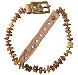 amberdog Bernsteinkette für Den Hund Superflex 28-33cm Verstellbar Bernsteinkette Hund