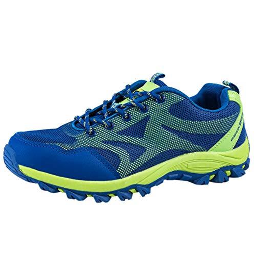 ODRD Männer Frauen Schuhe Herren Shoes Atmungsaktives Mesh Outdoor Schuhe Turnschuhe Mode Laufschuhe Worker Boots Combat Hallenschuhe Sportschuhe Wanderschuhe Freizeitschuhe (Männliche Pop Art Kostüm)