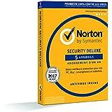 Norton Security 2017 Deluxe (5 appareils / 1 an)