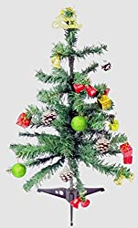 DECORIKA CHRISTMAS TREE WITH DECORATION - 2 FT LONG