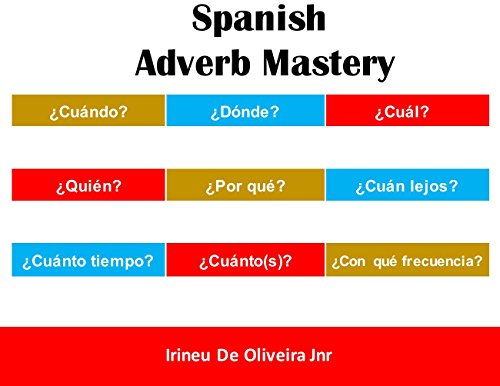 Spanish Adverb Mastery: Master the most important adverbs in Spanish por Irineu De Oliveira Jnr