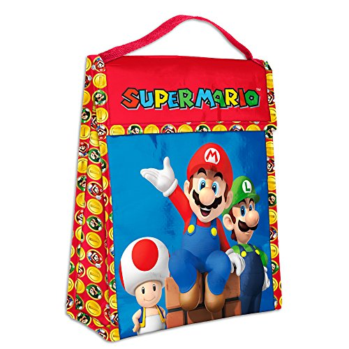 Zak Designs Super Mario Brothers Insulated Lunch Bag by Zak Designs