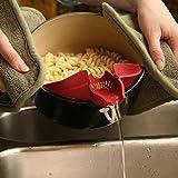 Honana Vegetables Food Control Drain Device Debris Filter Kitchen Gadget Utility