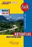 Falk Autoatlas Deutschland 2006/2007 - Falkfaltung mit Postleitzahlen: 1:500000 (Falk Atlanten)