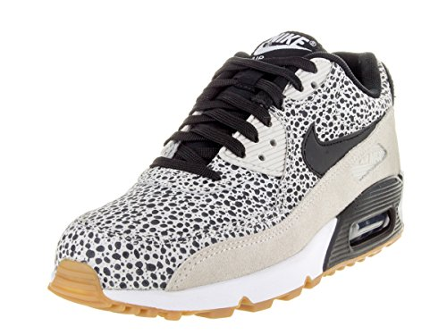Nike - Wmns Air Max 90 Prem, Scarpe sportive Donna Bianco/nero-marrone (White/Black-Gum Light Brown)