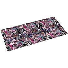 Printodecor 0013-657968443723 Alfombra Vinílica Impresa con Diseño Vintage, Plástico y PVC, Multicolor (Vintage Púrpura), 97 x 48 cm