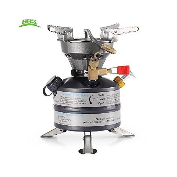 DECHO-C Portable Mini Liquid Fuel Camping Gasoline Stoves BRS-12A Kerosene Burners Diesel Kerosene Oil Stove 1