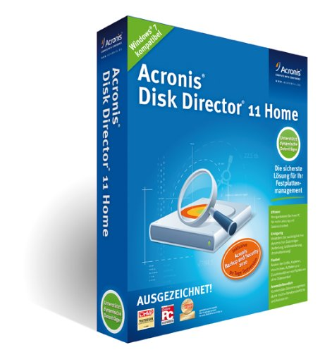Acronis Disk Director 11 Home Mini-Box