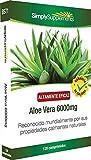 Aloe Vera 6000mg - 120 Tabletten - Versorgung für bis zu 2 Monaten - wirkt beruhigend auf das Verdauungssystem - SimplySupplements