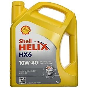 Shell 550040099 Helix HX6 10W40 Huile de moteur 5L pas cher