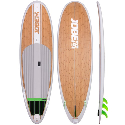 Jobe Bamboo Vizela 9.4 SUP 2017 in legno stand Up Paddle Board/surfboard pacchetto