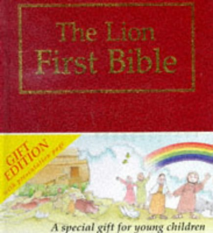 The Lion First Bible: Red Gift Edition (First Look)