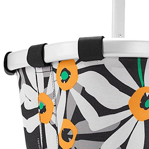 Reisenthel - Paniere, cesto per la spesa/da picnic con manici, colore e motivo a scelta, artist stripes (multicolore) - BL3058 magaritte