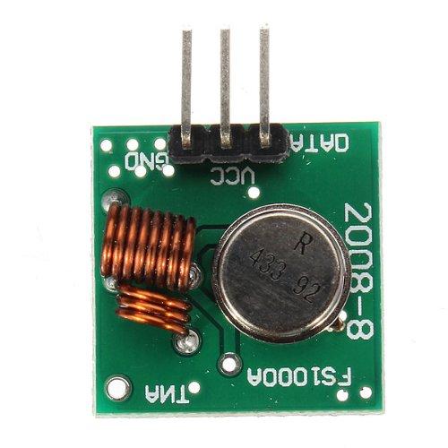 #PROMO module émetteur/récepteur radio 433MHz FS1000A pour projets Arduino  et RFlink - Domotique et objets connectés à faire soi-même
