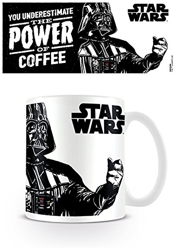 "Star Wars Pyramid International "" (The Power of Coffee)"" Offizielle, verpackte Kaffee-/Teetasse aus Keramik, Mehrfarbig, 315ml"