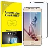 JETech Film de Protection d'écran pour Samsung Galaxy S6 en Verre Trempé