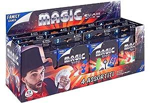 GLOBO, Magic Games 4Asstd 12 Piezas D/Box (37832), Multicolor (1)